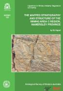 The mapped stratigraphy and structure of the mining area C region, Hamersley province