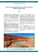 Managing an abandoned mine as a future resource: Ellendale diamond mine