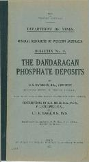 The Dandaragan phosphate deposits