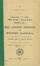 The gypsum deposits of Western Australia