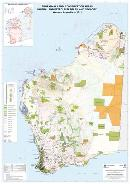 Aboriginal land, conservation areas, mineral and petroleum titles, and geology, Western Australia — 2012