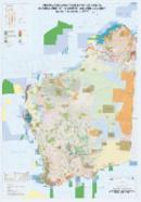 Aboriginal land, conservation areas, mineral and petroleum titles and geology, Western Australia - 2017