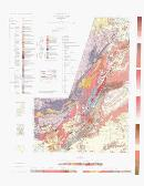 Geological map, east Kimberley region, Western Australia