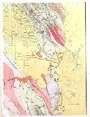 Southeast portion of the geological map of Kalgoorlie