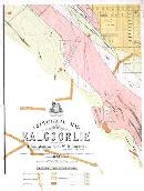Southwest portion of the geological map of Kalgoorlie