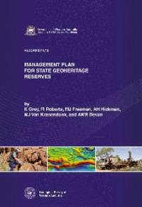 Management plan for state geoheritage reserves