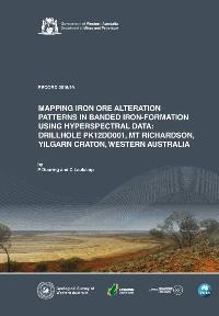 Mapping iron ore alteration patterns in banded iron-formation using hyperspectral data: drillhole PK12DD001, Mt Richardson, Yilgarn Craton, Western Australia
