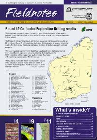Fieldnotes: A Geological Survey of Western Australia newsletter January 2016 Number 77