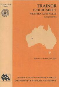 Trainor 1:250 000 sheet, Western Australia, second edition