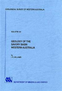 Geology of the Savory Basin, Western Australia