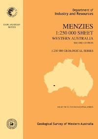Menzies 1:250 000 sheet, Western Australia, second edition