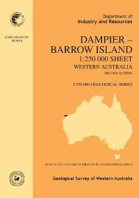 Dampier  -  Barrow Island 1:250 000 sheet, Western Australia, second edition