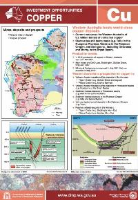 Copper: investment opportunities, Western Australia