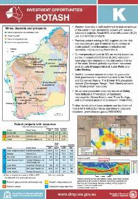 Potash: investment opportunities, Western Australia