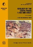 Geology of the Cooya Pooya 1:100 000 sheet