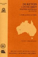 Duketon 1:250 000 sheet, Western Australia, second edition