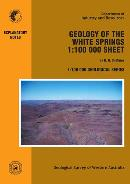 Geology of the White Springs 1:100 000 sheet