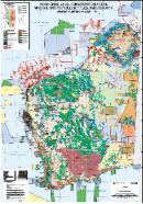 Aboriginal land, conservation areas, mineral and petroleum titles, and geology Western Australia - 2020
