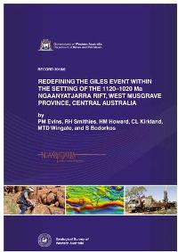 Redefining the Giles Event within the setting of the 1120 - 1020 Ma Ngaanyatjarra Rift, west Musgrave Province, Central Australia