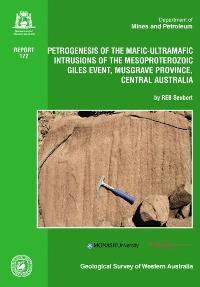 Petrogenesis of the mafic-ultramafic intrusions of the Mesoproterozoic Giles Event, Musgrave Province, central Australia