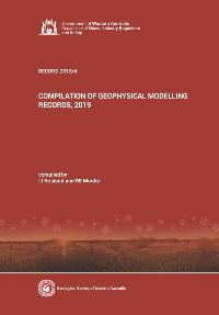 Compilation of geophysical modelling records, 2019