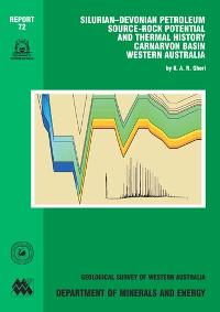 Silurian - Devonian petroleum source-rock potential and thermal history, Carnarvon Basin, Western Australia