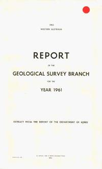 Annual report for the year 1961